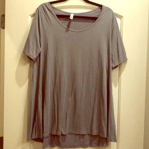 Grey T-shirt, LulaRoe perfect Tee